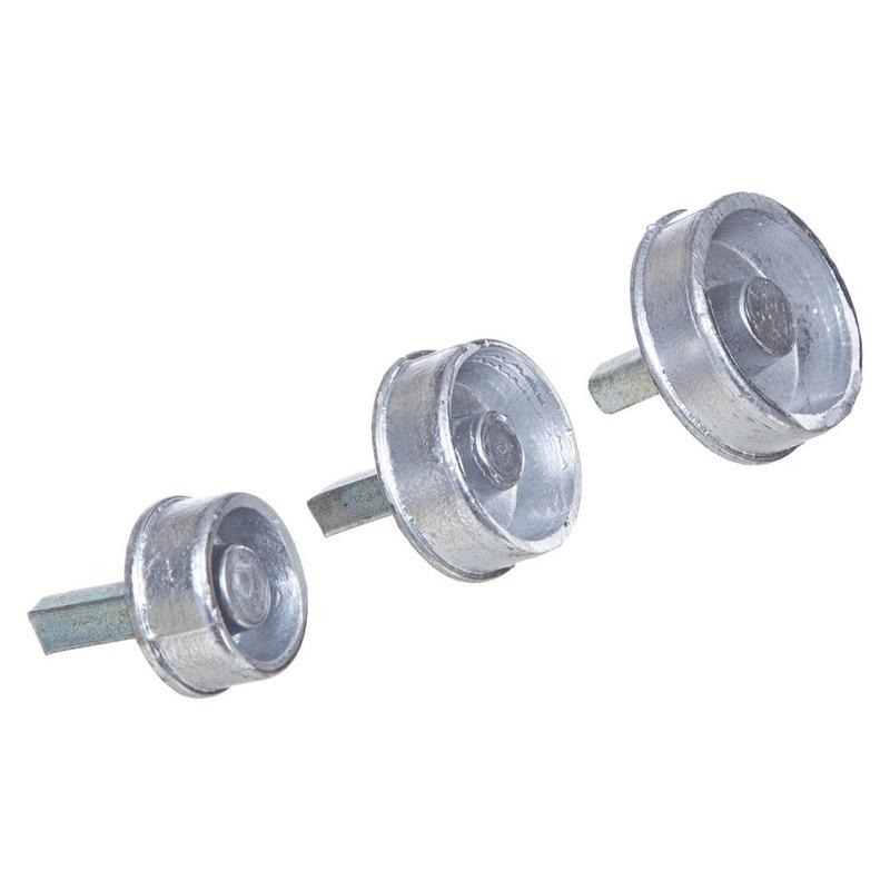 """Bucha de alumínio pino quadrado 2"""" (T10.1)"""