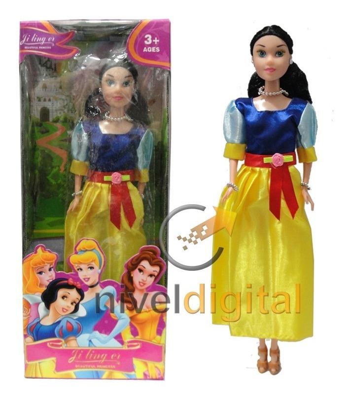Muñeca Princesas Disney Blancanieves Aurora Cenicienta Niña