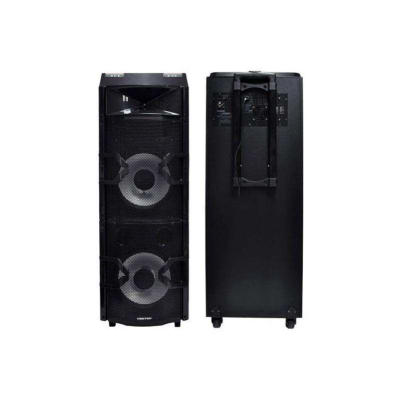 Sistema de audio con mezcladora de 2 canales, efecto DJ y bluetooth