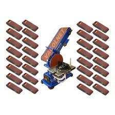 Combo Titan Carpinteria Lijadora Banco Kld 375w + 32 Lijas