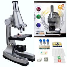 Microscopio Hokenn 600x Zoom Luz Accesorios Visor - Swat