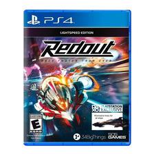 Redout Lightspeed Edition Ps4 Fisico Sellado Original Nuevo