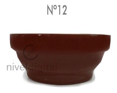 4 Cazuela Terracota Esmaltada Apilable 12 Linea Gastronomica