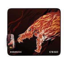 Mousepad Gamer Steelseries Qck+ Large L Cs:go Howl Edition