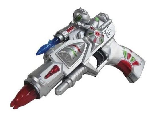 Pistola De Juguete Espacial Luz Y Sonido A Pila Moderna