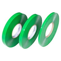 Fita dupla-face  silicone verde  9,5 x 20 x 1mm