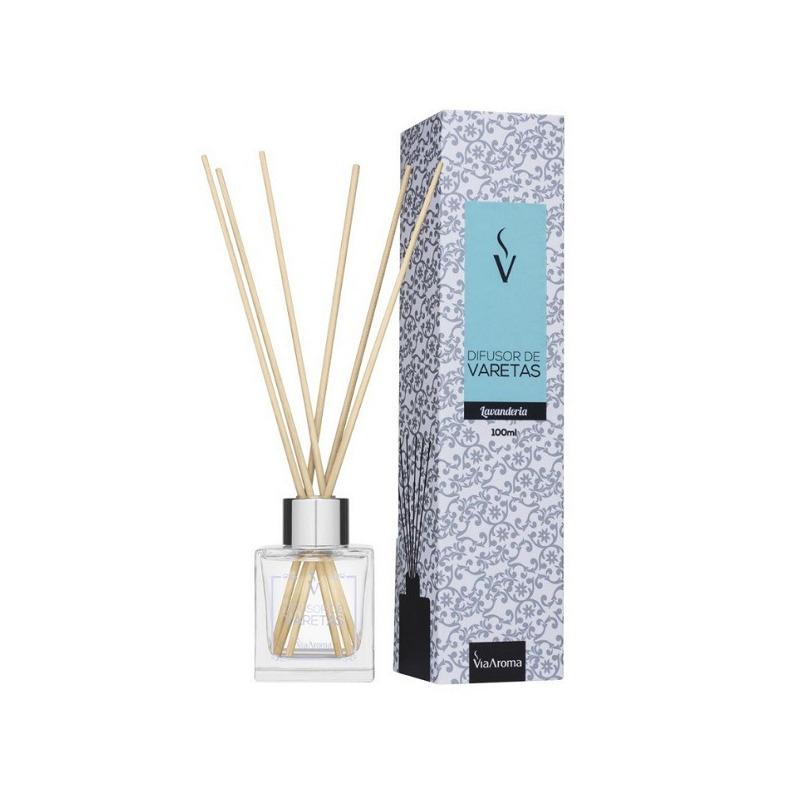 Stick Difusor Lavanderia - 100ml - Via Aroma