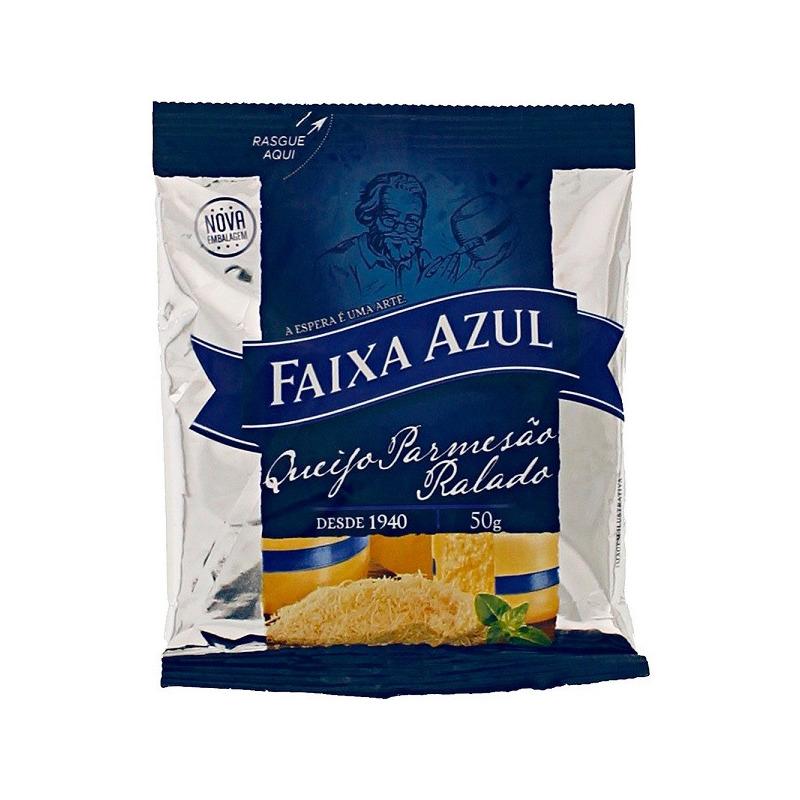 Queijo Parmesao Ralado - 50g - Faixa Azul