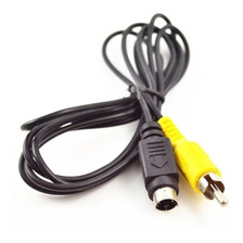 Cable Video Mini Din 4 A 1 Rca 1.8 Mts Noganet