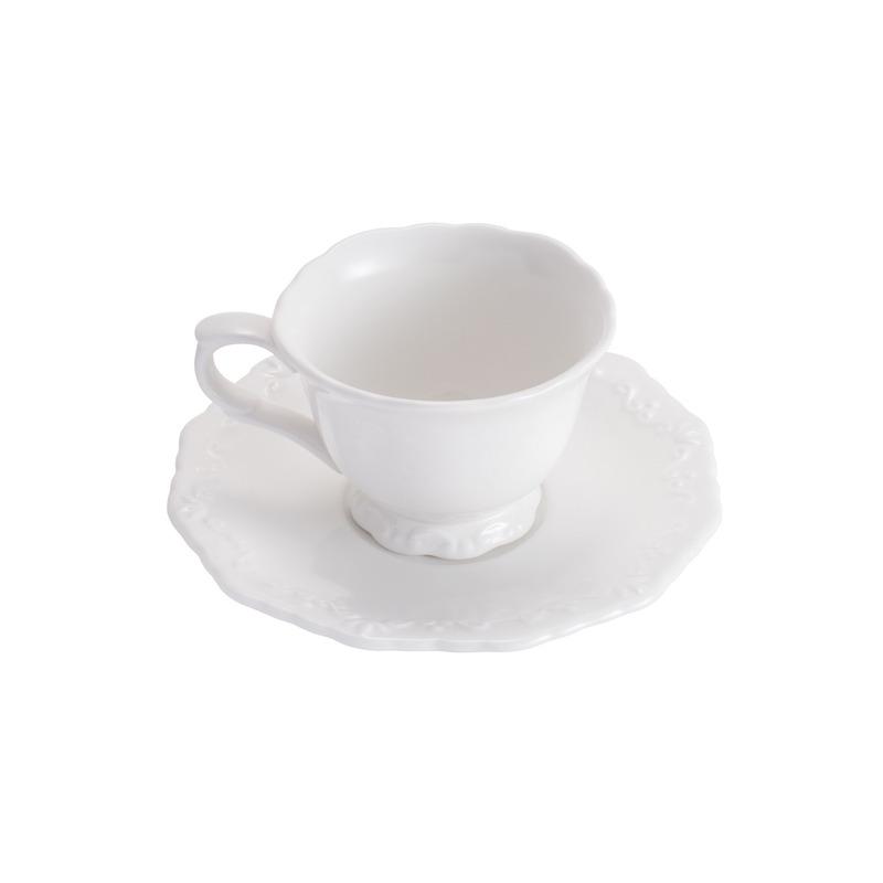 Jogo 6 Xícaras de Chá de Porcelana 200 ml 31025091