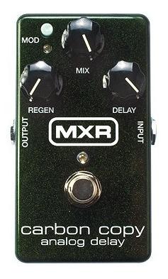 Pedal De Efectos Mxr M169 Carbon Copy Delay - Grey Music -