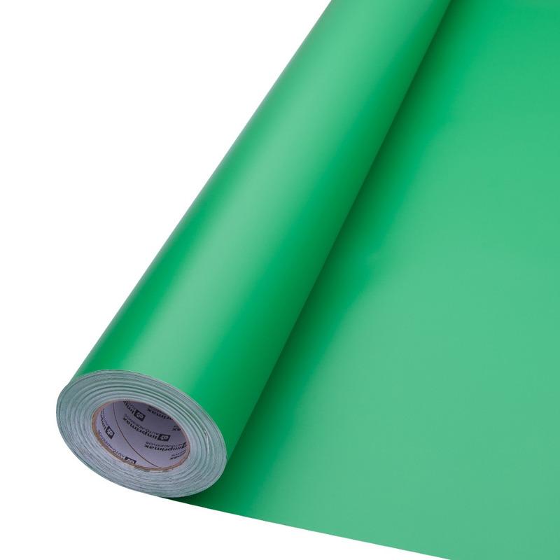 vinil adesivo maxlux verde brilhante larg. 1,22  m