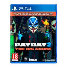 Payday 2 The Big Score Ps4 Fisico Nuevo Original Sellado
