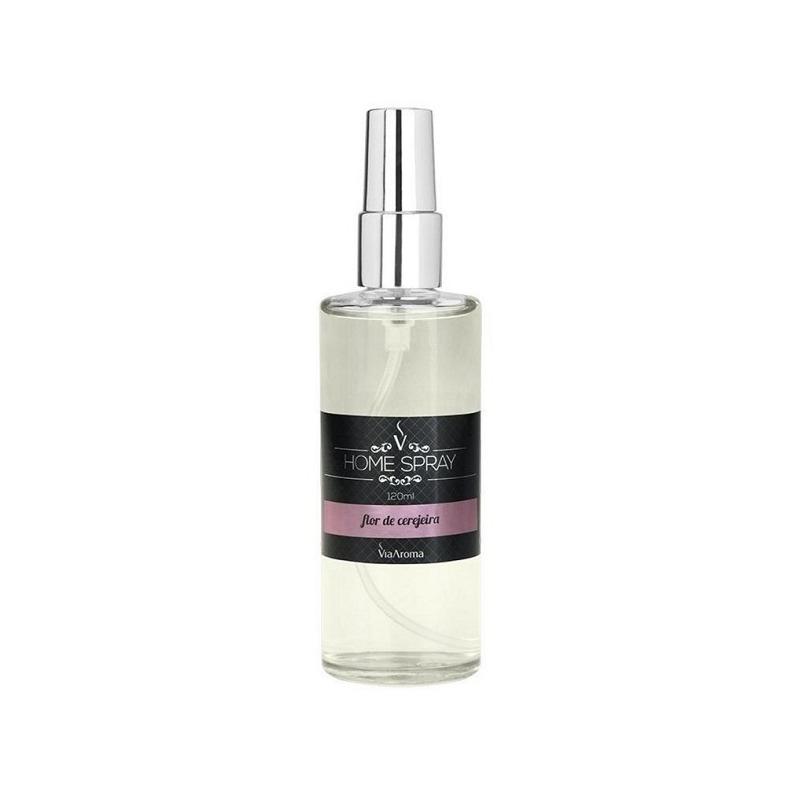 Aromatizador Home Spray Flor de Cerejeira - 120ml Via Aroma