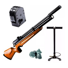 Rifle Fox Pcp M11 5.5 Regulado + Cargador Silenc + Inflador
