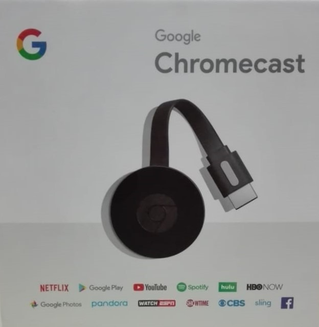 Chromecast Gen 2 2018 1080p  Android iPhone Netflix Smart Tv