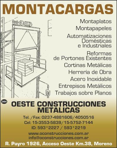 Oeste Construcciones Metálicas
