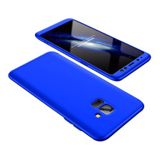 Funda Luxury  3 En 1 Rigida Samsung A8 A6 Plus 2018 + Glass