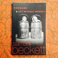 Samuel Beckett.  ENDGAME & ACT WITHOUT WORDS I.