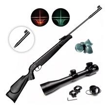 Rifle Aire Comprimido Apolo 300 Nitro Potenciado + Mira Luz