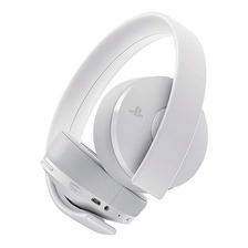 Auriculares Sony Gold Wireless Headset White Ps4 Vr 7.1