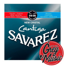 Cuerdas Savarez (510crj) New Cristal Cantiga. Tension Normal
