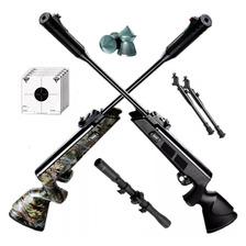 Rifle Aire Comprimido Fox Nitro Compact + Mira Bipode Cuotas