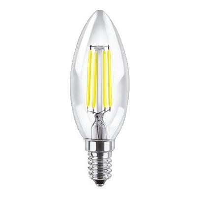 Lampara Vela Filamento 4w Led E14 Luz Calida