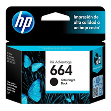 Cartucho Hp 664 Negro Original P/ 2135 3775 3785