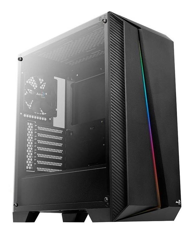 Gabinete Gamer Aerocool Cylon Pro Rgb Mid Tower Negro