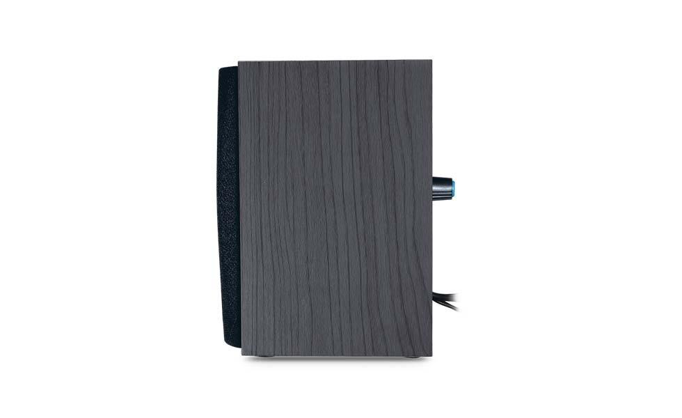 Parlante Genius Wooden Sp Hf160 Pc Wooden Negro