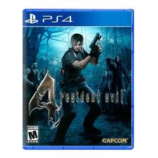 Resident Evil 4 Hd Ps4 Fisico Sellado Nuevo - San Justo