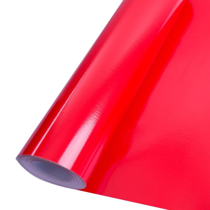 Vinil adesivo colormax vermelho vivo larg. 1,0 m