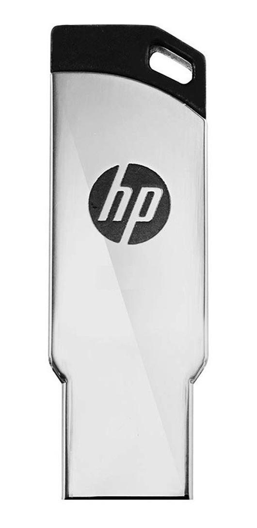 Pendrive Hp 32gb V236w Usb 2.0 Metalico Pen Drive Oficial
