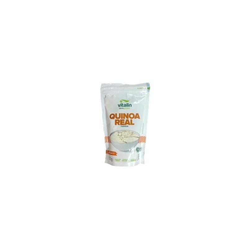 Farinha de Quinoa Real Orgânica - 150g - Vitalin