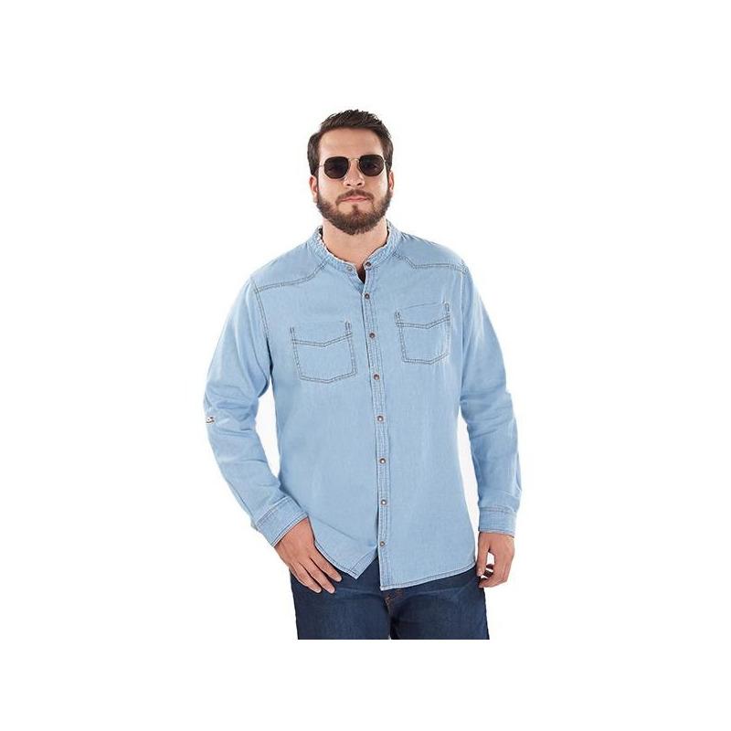 Camisa de mezclilla  014622P