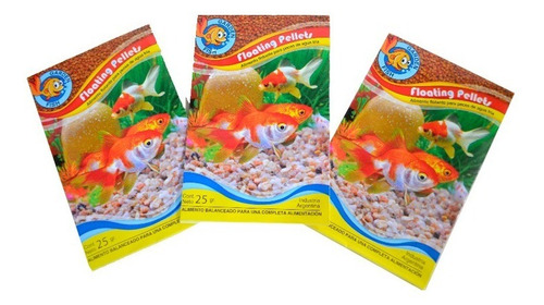Alimento Para Peces Balanceado Completo Sobre 25 Gramos