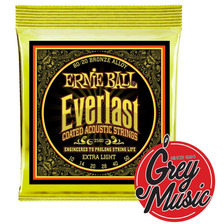 Encordado Ernie Ball P02560 Guitarra Acústica 80/20 Bronze