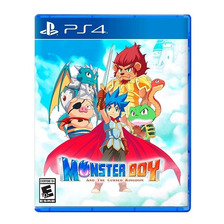 Monster Boy And Cursed Kingdom Ps4 Fisico Sellado Original