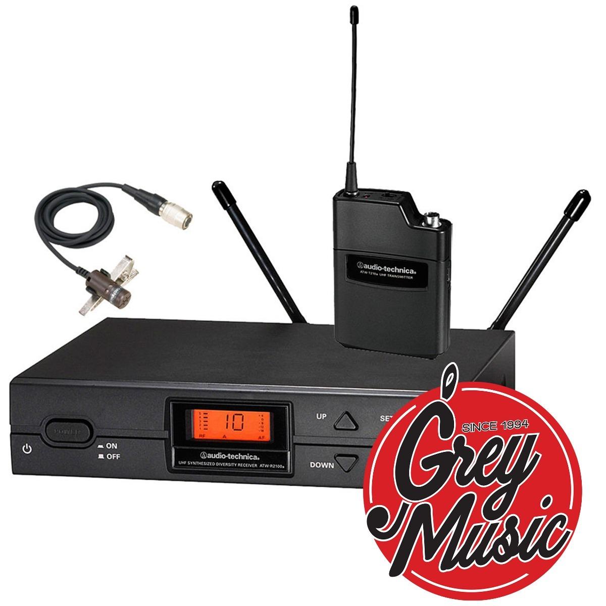 Mic Inalàmbrico Corbatero Audio Technica Atw2129 Uhf