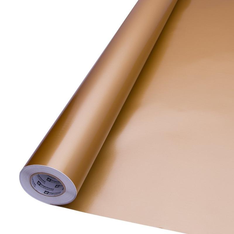 Vinil adesivo Goldmax ouro larg. 1,22 m
