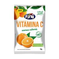 Bala de Gelatina Natural Sweets com Vitamina C - 18g - Fini