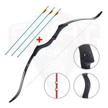 Arco Recurvo Profesional Prana Ninja + 3 Flechas De Aluminio