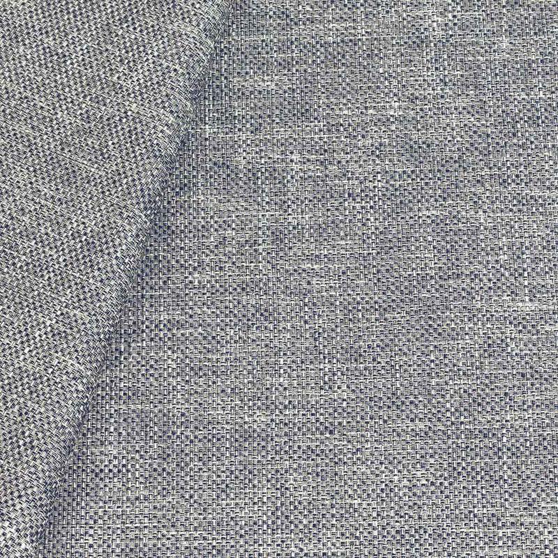 Tecido linho para sofá azul marinho Coleção Vicenzza