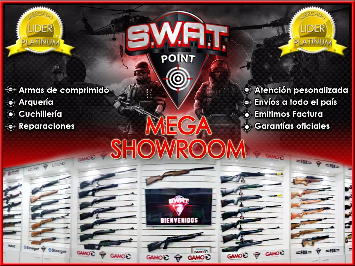Rifle Nitro Pistón Gr1600 Potente Caza 1100 Fps Funda Swat