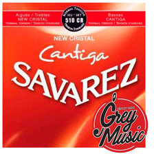 Savarez 510cr Encordado De Guitarra Clasica New Cristal