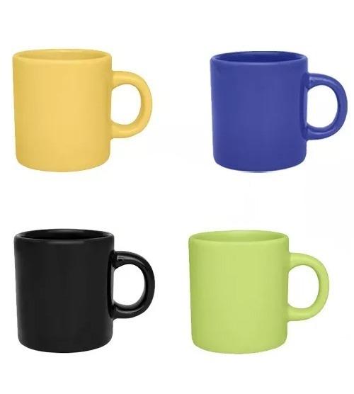 Jarrito Mug Pocillo Asa Cafe Ceramica Biona 110 Ml Lagrima