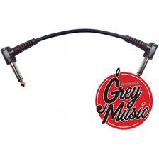 Cable Guitarra Bajo Elipse Ep015e Interpedal 15 Cm Bk