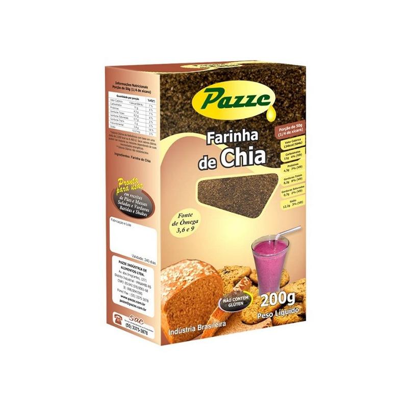 Farinha de Chia - 200g - Pazze