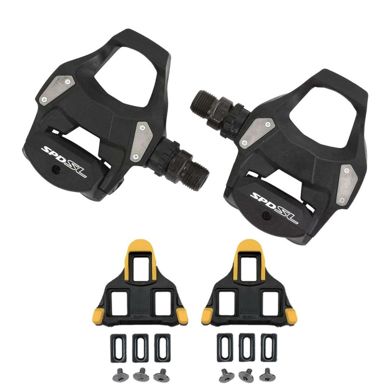 PEDAL CLIP SHIMANO PD-RS500 S/REFLETOR PRETO - SPEED / ROAD